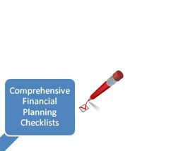 comprehensive financial Planning Checklists